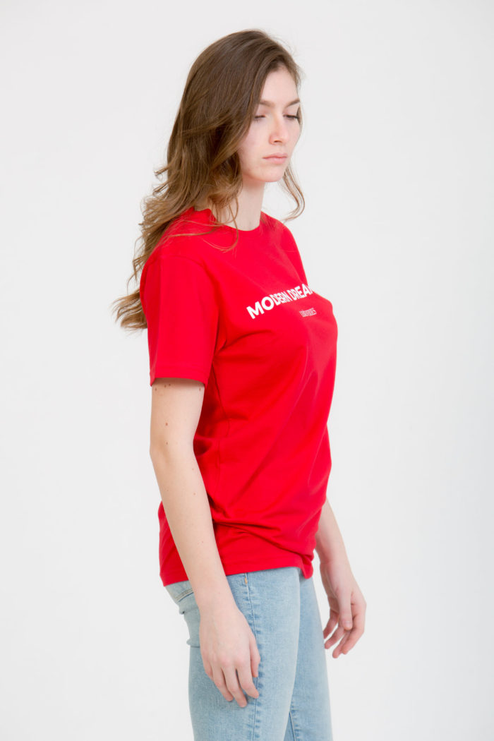 LERÊVERIES - T-shirt Donna Modern Dreamer Colore Rosso - B
