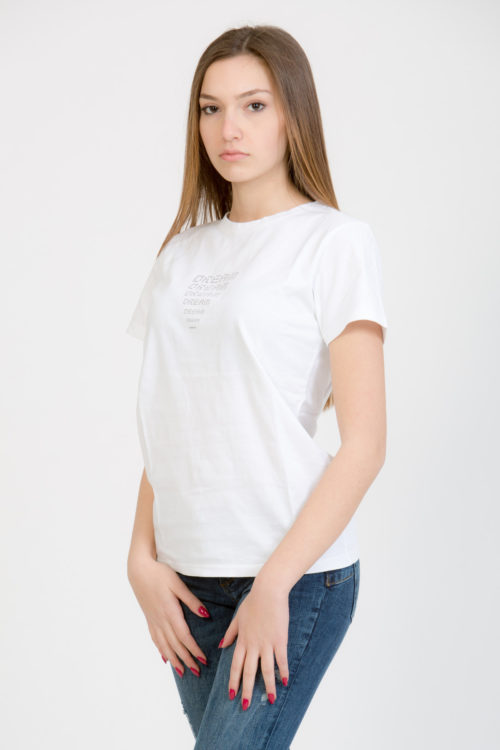 LERÊVERIES - T-shirt Donna Eco DREAM Colore Bianco - A