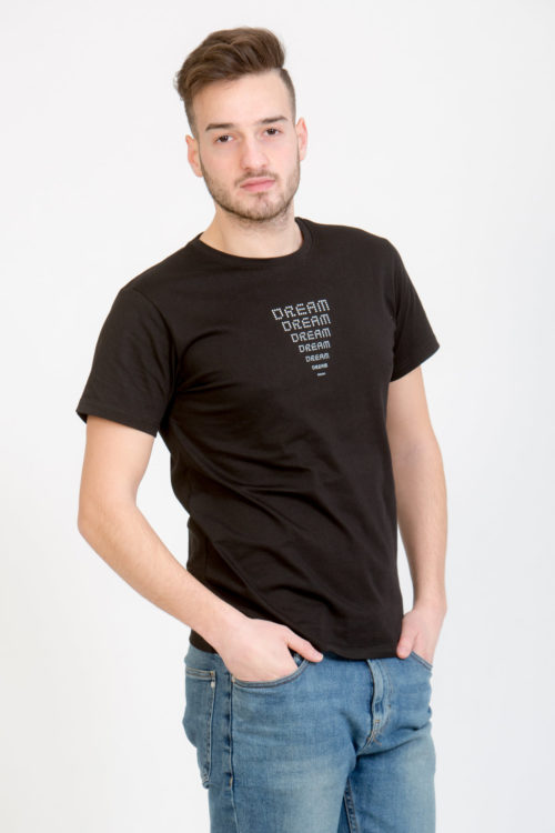 LERÊVERIES - T-shirt Uomo Eco DREAM Colore Nero - A