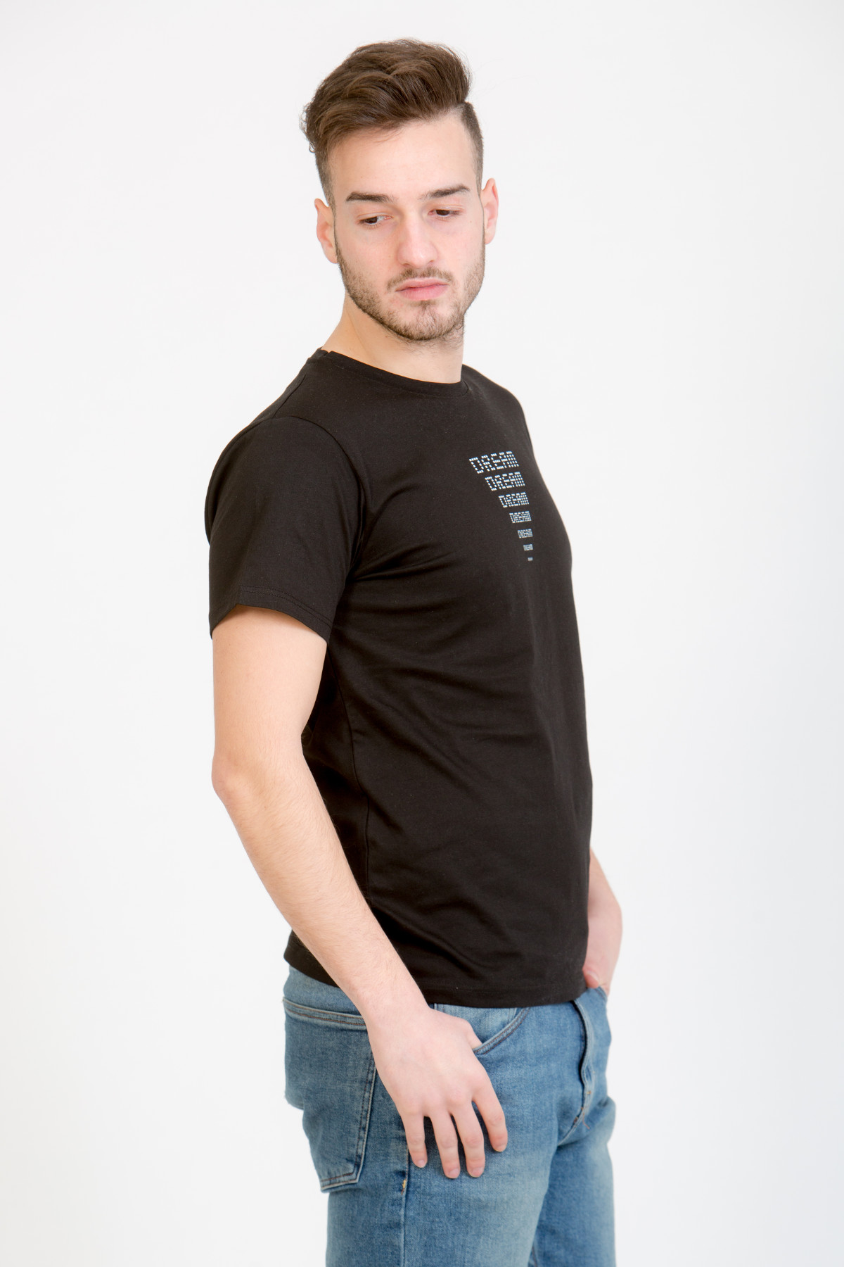 LERÊVERIES - T-shirt Uomo Eco DREAM Colore Nero - B